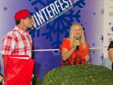 Vanilla Ice and Councilwoman Ann Gerwig